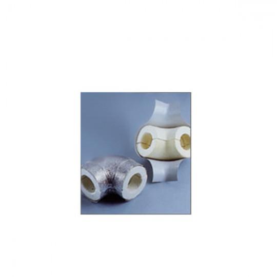 CURVA COPPELLA RIVESTITA PVC 40x114