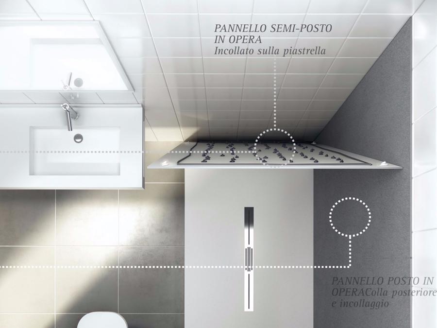 blog - rinnovare il bagno con gli skin panels di fiora - stip ... - Fiora Arredo Bagno