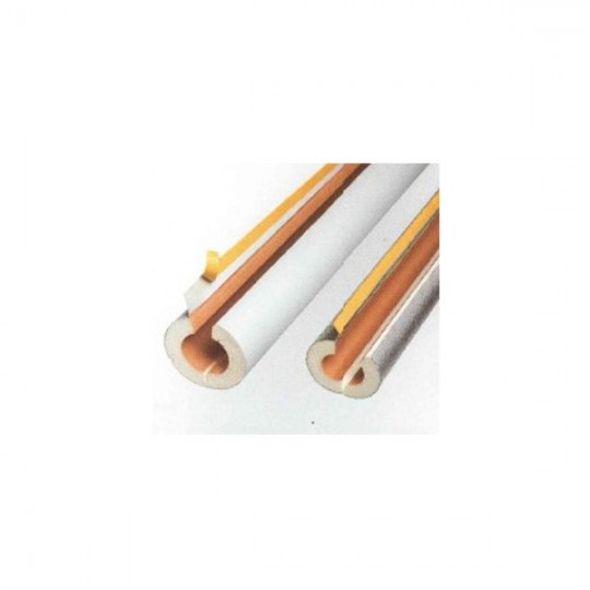 TUBO COPPELLA RIVESTITA PVC 40x101