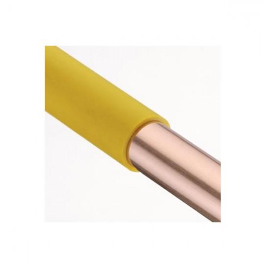 TUBO RAME PVC GIALLO D 18