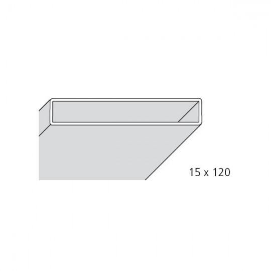 TUBOLARE 15x120 BIANCO